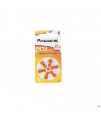 Panasonic Batterij Oorapparaat Pr 13h 61021419-31