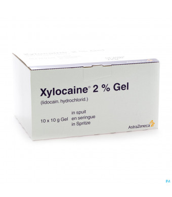 Xylocaine Gel Ser/spuit 10x10g 2%1064237-31