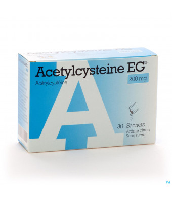 Acetylcysteine Eg Sach 30x200mg1286251-3