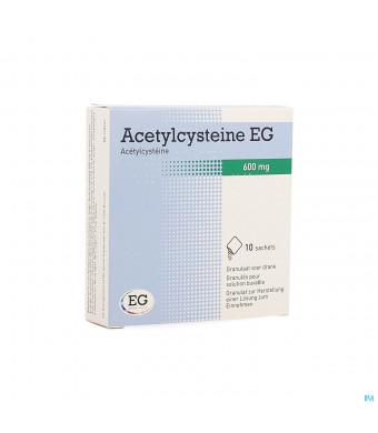 Acetylcysteine Eg Sach 10x600mg1286269-31