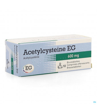 Acetylcysteine Eg 600mg Bruistabl 10x600mg1286285-31