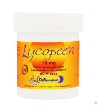 Lycopeen Caps 60x10mg Deba1415140-30