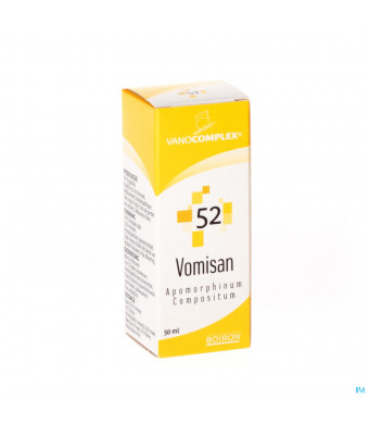Vanocomplex N52 Vomisan Gutt 50ml Unda1427160-30