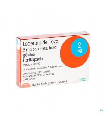 Loperamide Teva Caps 20 X 2mg1430727-31