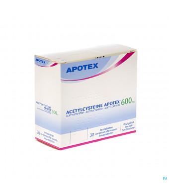 Acetylcysteine Apotex Comp Eff 30 X 600mg1432442-33