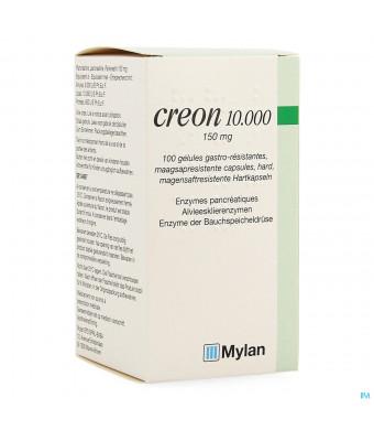 Creon 10000 Caps Maagsapresist Hard 100 X 150mg1481563-32