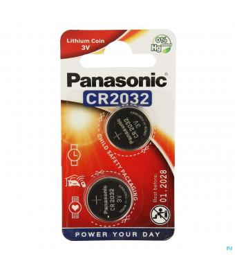Panasonic Batterij Cr2032 3v 21598275-31