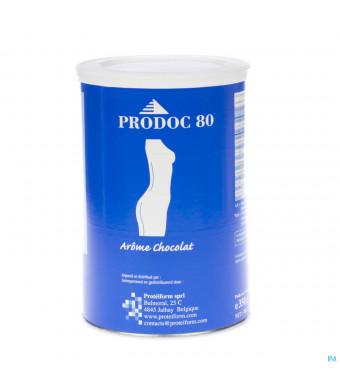 Prodoc 80 Poeder Milk-shake Chocolade 350g2041291-32