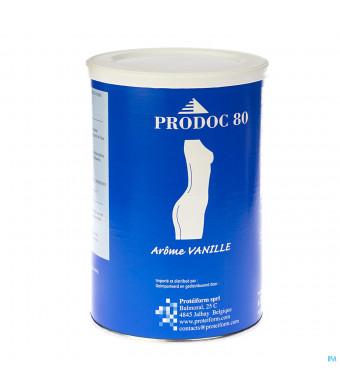 Prodoc 80 Poeder Milk-shake Vanille 350g2041317-32