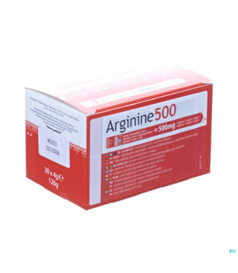 Arginine 500 Pdr Zakje 30x4g3012309-31
