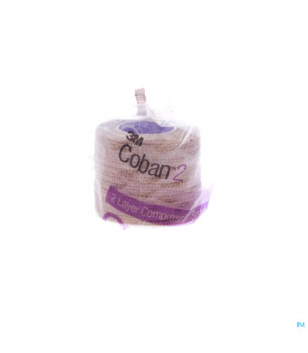 Coban 2 3m Compressiezwachtel 5,0cmx2,70m 1 200223019494-31