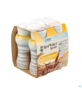 Resource Junior Chocolade Nf 4x200ml3031945-31