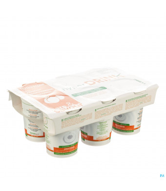 Hyperdrink Abrikoos Z/lactose Pot 6x200ml3033420-31