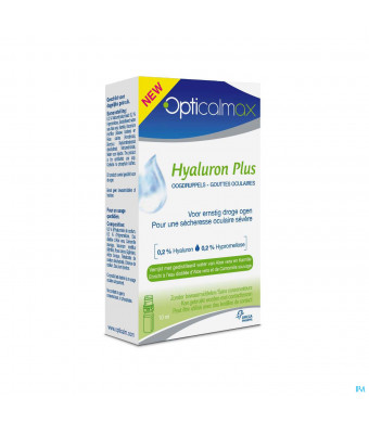 Opticalmax Hyaluron Plus 1x10ml3036340-31