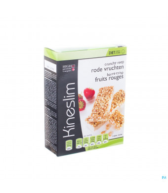 Kineslim Crunch Reep Rode Vruchten 3x40g3037199-31