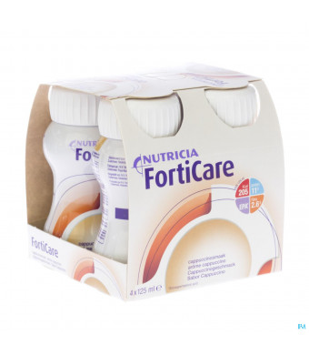 Forticare Drink Cappuccino Fles 4x125ml 5707163041472-31