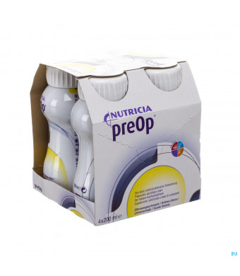 Preop Drink Citroen Fles 4x200ml 5714993041506-31