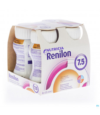 Renilon 7.5 Karamel Fles 4x125ml 5709783041530-31