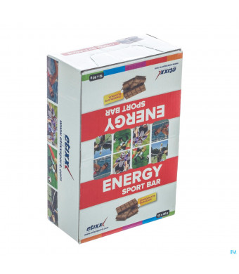 Etixx Energy Sport Bar Chocolate 12x40g3046679-31