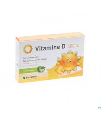 Vitamine D 400iu Tabl 84 Metagenics3080249-31