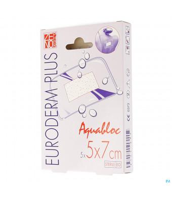 Euroderm Plus 5x 7cm 5 Pleister Steriel Wtp3145695-31