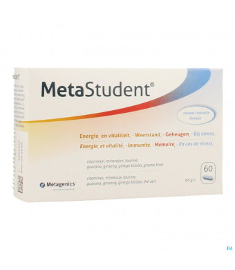 Metastudent Tabl 60 Metagenics3393550-32