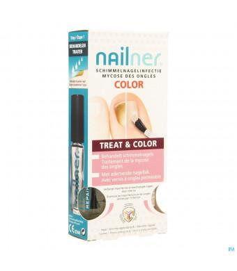 Nailner Brush Treatandcolor 2x5ml3533767-31
