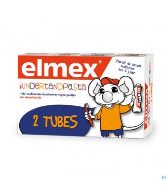 ELMEX® KINDERTANDPASTA TUBE 2x50ML3535085-32