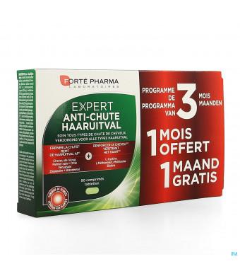 Expert Cheveux A/haaruitval Comp 3x30 2+1 Gratuit3734027-31