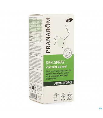 Aromaforce Bio Keelspray 15ml3915840-31