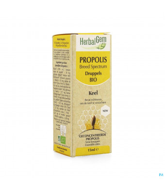 Herbalgem Propolis Breed Spectrum Bio Fl Gutt 15ml3949609-31
