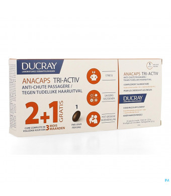 Ducray Anacaps Trio Tri-activ Caps 3x303950078-31