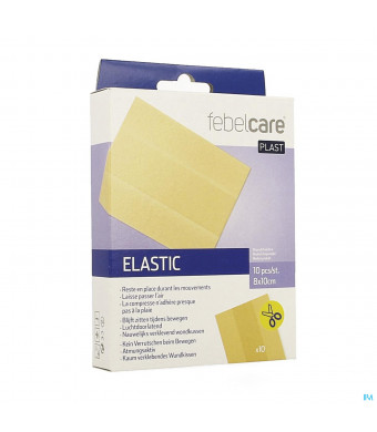 Febelcare Plast Elastic Uncut 10x8cm 103960135-31