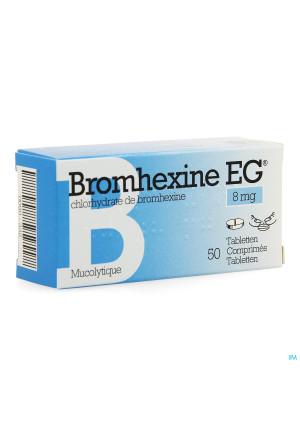 Bromhexine Eg Comp 50 X 8mg0090332-20