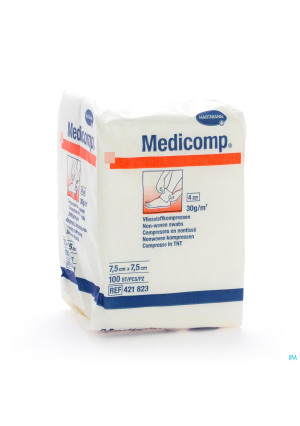 Medicomp Kp N/st 4pl 7,5x7,5cm 100 42182370289173-20