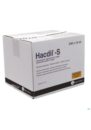 Hacdil-s 240x15 ml Unit Dose0291989-20