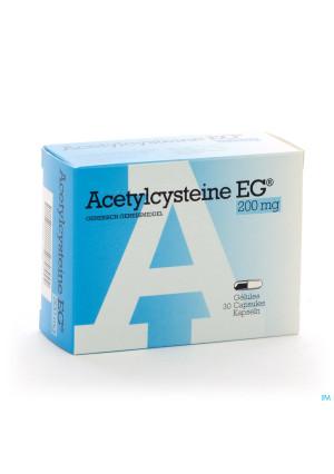 Acetylcysteine Eg Caps 30 X 200mg0600189-20
