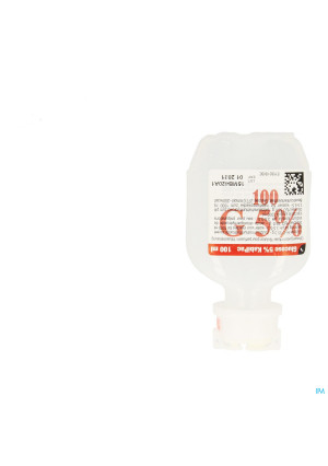Fresenius Kabipac Glucose 5% 1 X 100ml Sac0617951-20