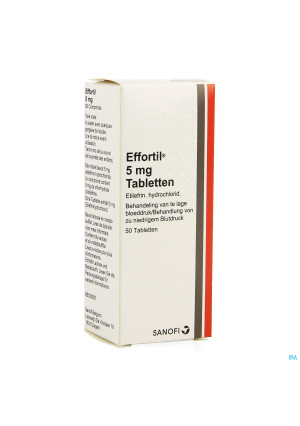 Effortil Comp 50 X 5mg0801035-20
