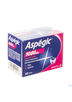 Aspegic 1000 Pulv 20x1000mg Ad0817346-20