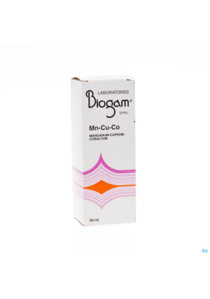 Biogam Mn-cu-co Fl 60ml0834283-20