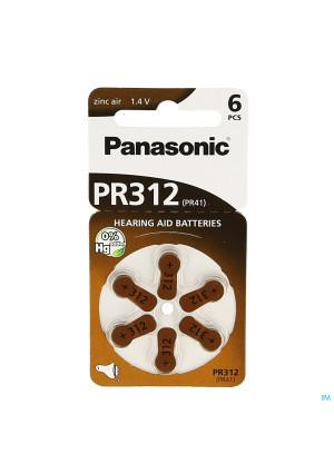 Panasonic Batterij Oorapparaat Pr 312h 61021427-20