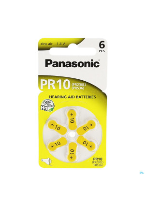 Panasonic Batterij Oorapparaat Pr 230h 61021443-20