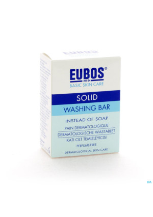 Eubos Compact Wastablet Blauw Z/parf 125g1169044-20