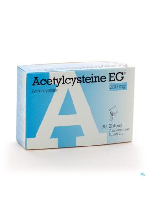 Acetylcysteine Eg Sach 30x200mg1286251-20