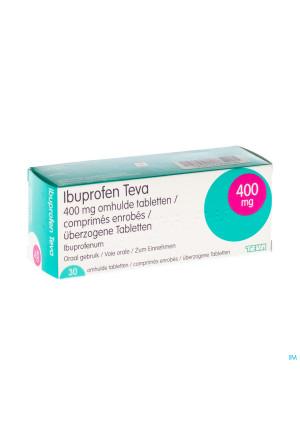 Ibuprofen Teva Drag 30 X 400mg1303270-20