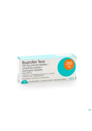 Ibuprofen Teva Drag 30 X 200mg1309764-20