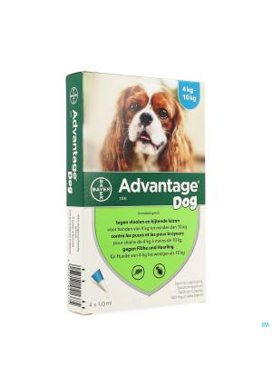 Advantage 100 Honden 4<10kg 4x1,0ml1357235-20