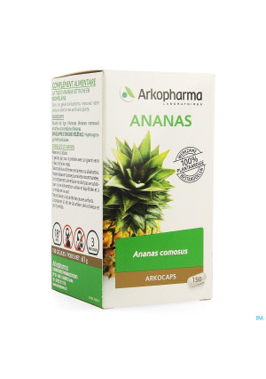 Arkocaps Ananas Plantaardig 1501383736-20