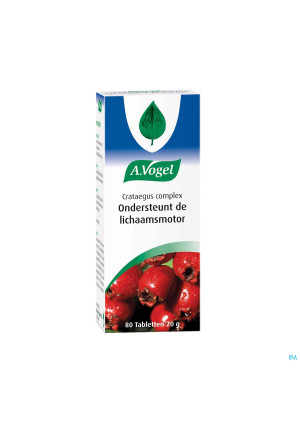 A.Vogel Crataegus Complex 80 tabletten1425339-20